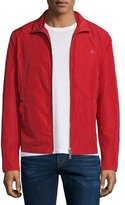 Burberry Memory Lightweight Blouson Jacket, Military Red