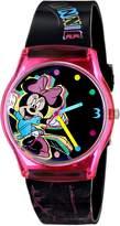 Disney Ingersoll Women's IND25821 Minnie Wrist Art Analog Display Quartz Multi-Color Watch