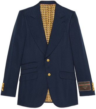 Gucci Viscose jacket with label
