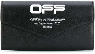 Off-White Printed Flap Wallet
