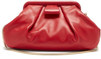 Miu Miu Mini Gathered Leather Cross-body Bag - Red
