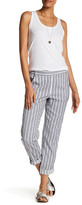 Splendid Maritime Stripe High Rise Crop Trouser