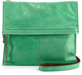 Hobo Lindy Fold-Over Shoulder Bag, Mint