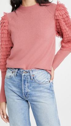 Sea Novia Embellished Princess Sweater