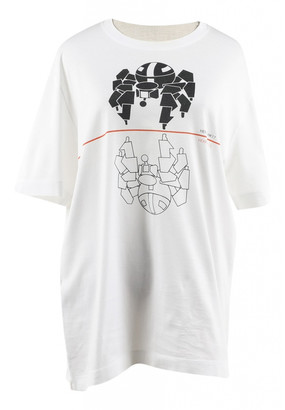 Hermes White Cotton Tops