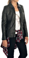 FDJ French Dressing Quilted Faux-Leather Jacket (For Women)