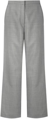 Egrey Wool Wide Leg Trousers