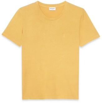 Saint Laurent Cotton Logo T-Shirt