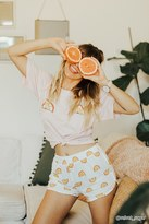 Forever 21 Citrus Fruit Graphic PJ Set