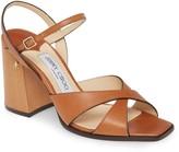 Jimmy Choo Joya Leather Sandal
