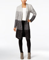 Style&Co. Style & Co. Ombré Duster Cardigan, Only at Macy's