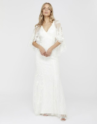 Under Armour Christabel Bridal Embellished Maxi Dress Ivory