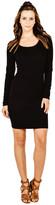 Saint Grace Crossby Pencil Dress In Black