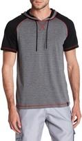 Burnside Hooded Short Sleeve Pullover