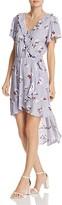 Aqua Floral Print Ruffle Dress - 100% Exclusive