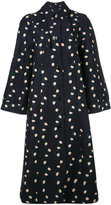 Paul Smith oversized printed coat - women - Cotton/Cupro - 38