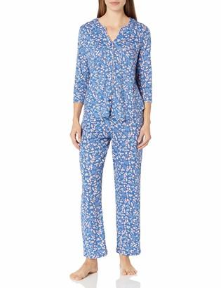 Karen Neuburger Women's Pajamas 3/4 Cardigan Long Sleeve Pj Set