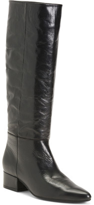 Made In Portugal High Shaft Leather Boots