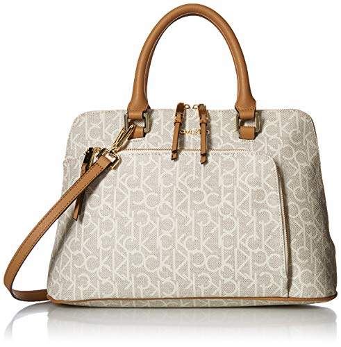8436e03ac79 Calvin Klein Monogram Satchel - ShopStyle