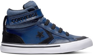 Converse Pro Blaze Strap Leather High Top Trainers