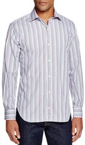 Tailorbyrd Multistripe Classic Fit Button Down Shirt