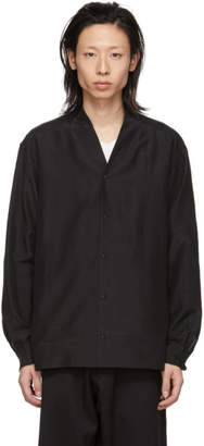 SASQUATCHfabrix. Black Big Wa-Neck Shirt