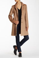 Cinzia Rocca Notch-Stand Collar Wool Coat