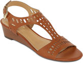 DIBA LONDON Diba London Journey Laser-Cut Wedge Sandals