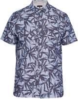 Ted Baker Men's Xchange Leaf Print Shirt