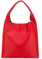 Maison Margiela structured tote bag - women - Cotton/Leather - One Size