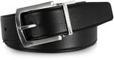 Moreschi Orlando Black/Brown Reversible Leather Belt