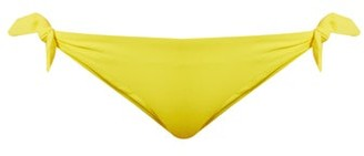 Mara Hoffman Side-tie Bikini Briefs - Womens - Yellow