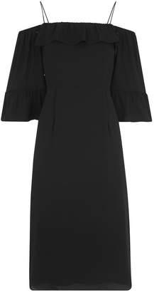 Whistles Off Shoulder Frill Dress