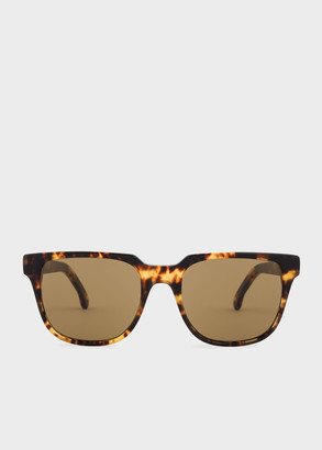 Paul Smith Honeycomb Tortoise 'Aubrey' Sunglasses
