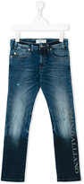 John Galliano regular jeans - kids - Cotton/Spandex/Elastane - 6 yrs