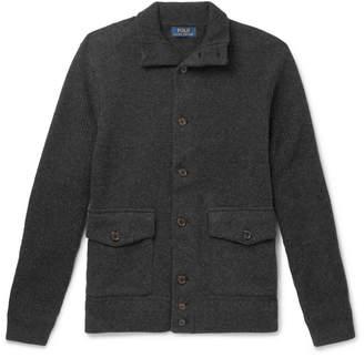 Polo Ralph Lauren Slim-Fit Wool-Blend Cardigan