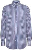 Paul & Shark Bold Stripe Shirt, Orange, EU 43