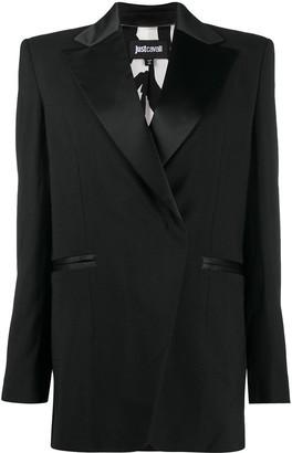 Just Cavalli Animal-Print Lined Jacket