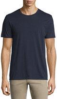 Vince Short-Sleeve Pima Crewneck Jersey T-Shirt, Navy