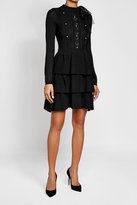 RED Valentino Wool Dress with Embellished