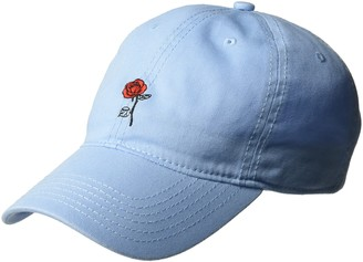 Disney Women's Belle Rose Beauty and The Beast Baseball Cap 100% Cotton