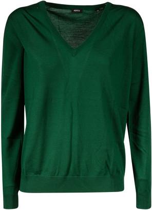 Aspesi V-neck Ribbed Sweater