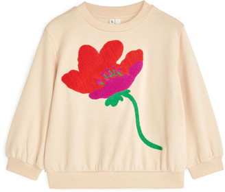 Arket Embroidered Sweatshirt