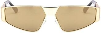 Moschino Rectangular Frame Sunglasses