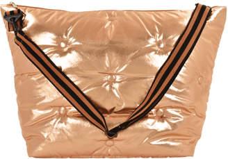 Iscream Copper Tufted Metallic Weekender Bag