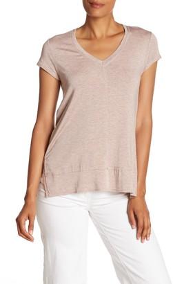 H By Bordeaux V-Neck Tunic T-Shirt