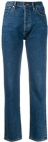 Gold Sign low rise Benefit jeans