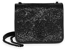 Saint Laurent Women's Niki Embossed Leather Crossbody Bag