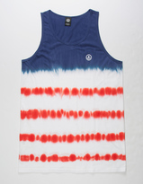 Neff Dye Stripes Mens Tank