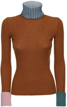 Lanvin Virgin Wool Blend Knit Sweater